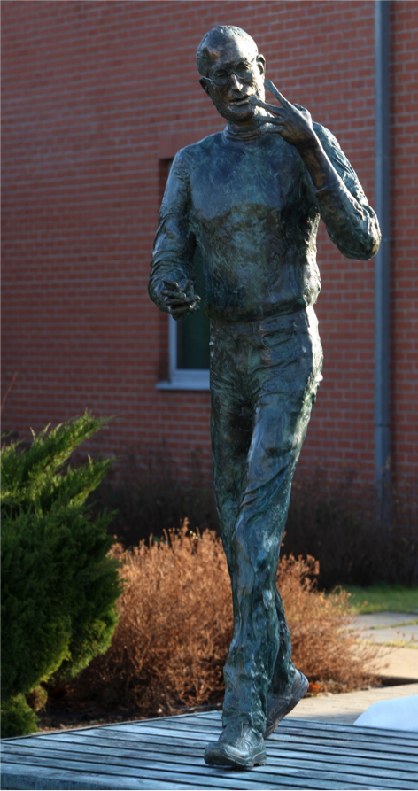 """Steve Jobs Memorial Statue"""